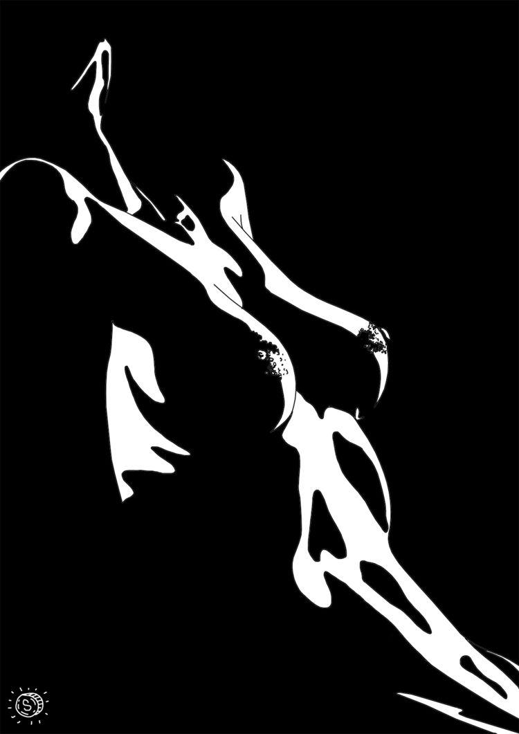 Rush - art, illustration, minimalism - thespred | ello