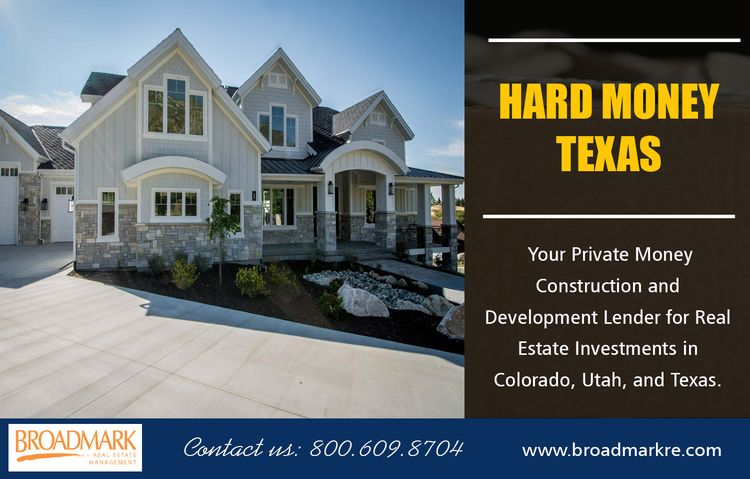 Hard Money Texas money lenders  - constructionloansutah | ello