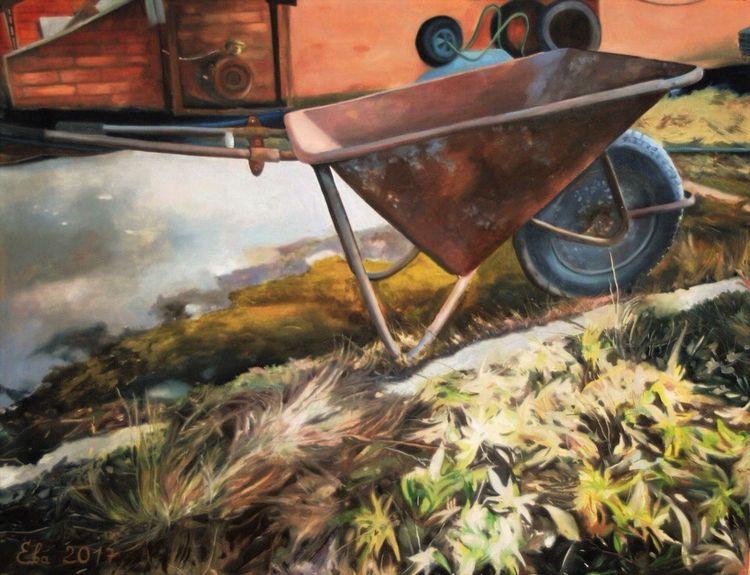countryside oil canvas - bogomilpernat | ello