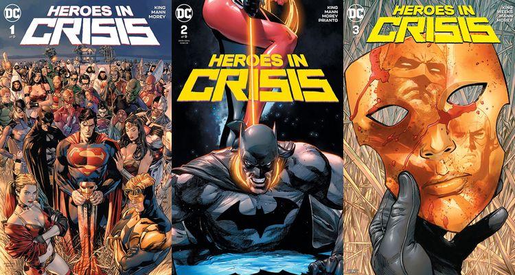 Heroes Crisis constant discussi - comicbuzz | ello
