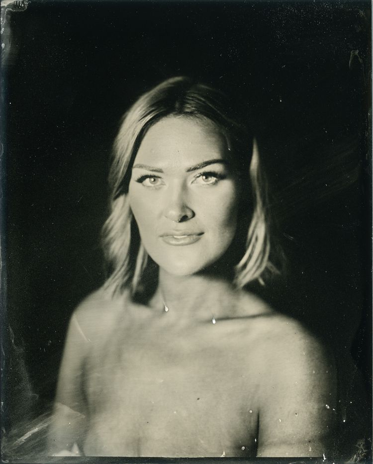 Catherine. 4x5 tintype - wetplate - photoplasia | ello
