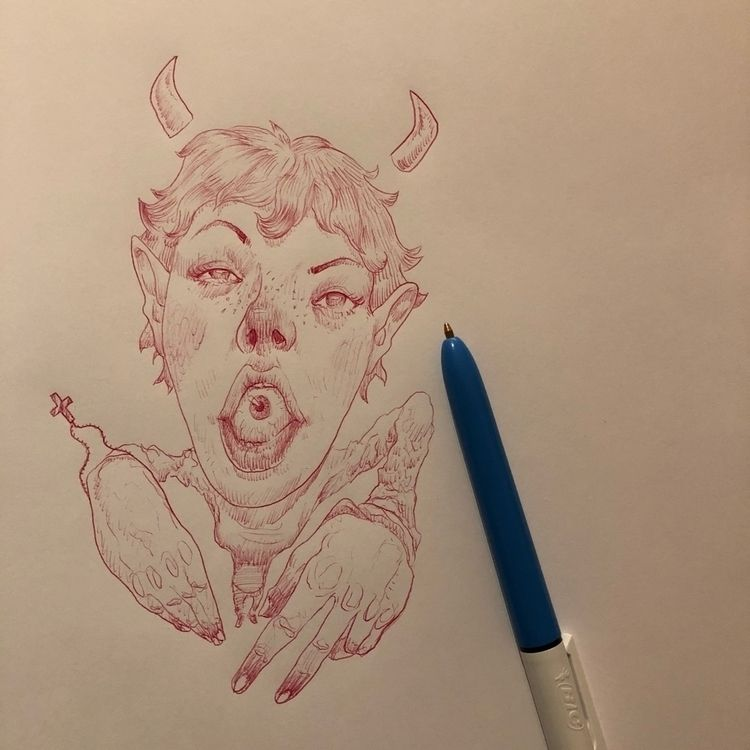 doodle. Bic pens current jam co - astrosim | ello