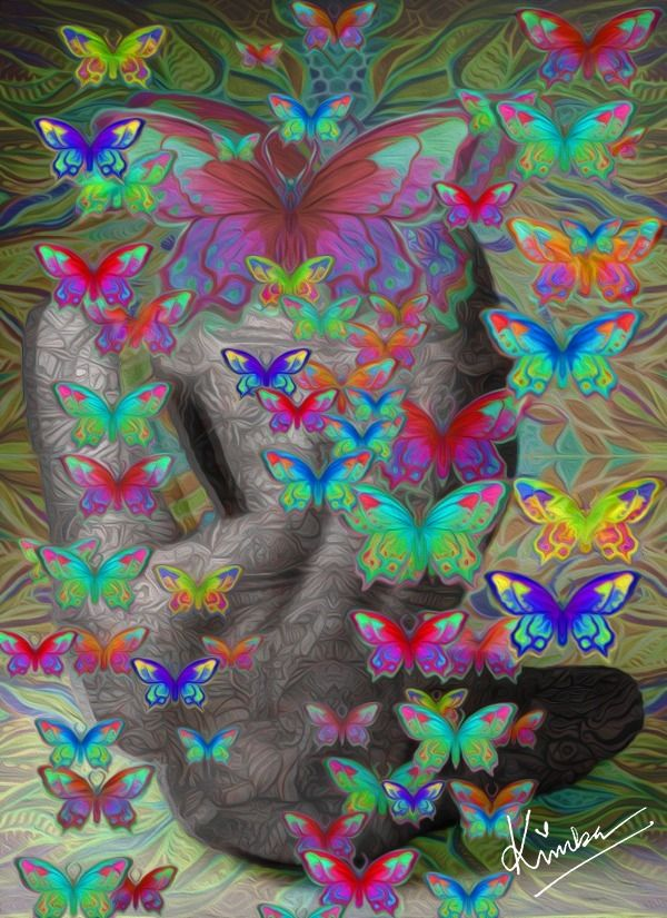 Fly transformed butterfly, cate - kimbahanghal | ello
