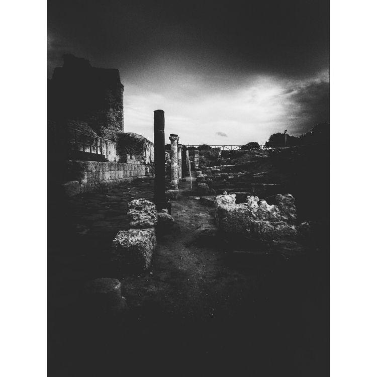 Ancient roman ruins - blackandwhitephotography - gavinobazzoni | ello