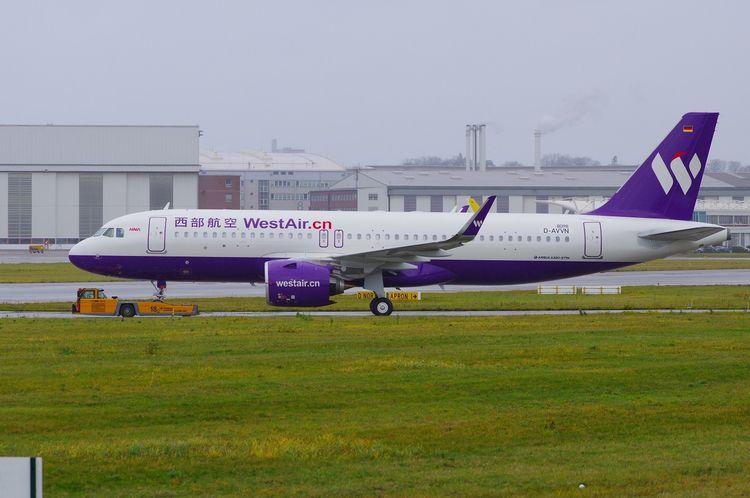 ChinaWestAir, A320, neo, A320neo - brummi | ello