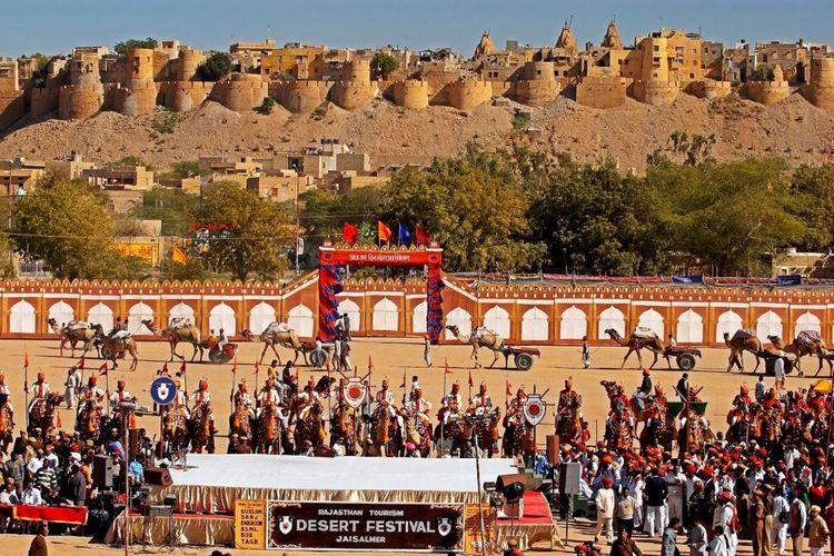 Jaisalmer Desert Festival await - alinajack   ello