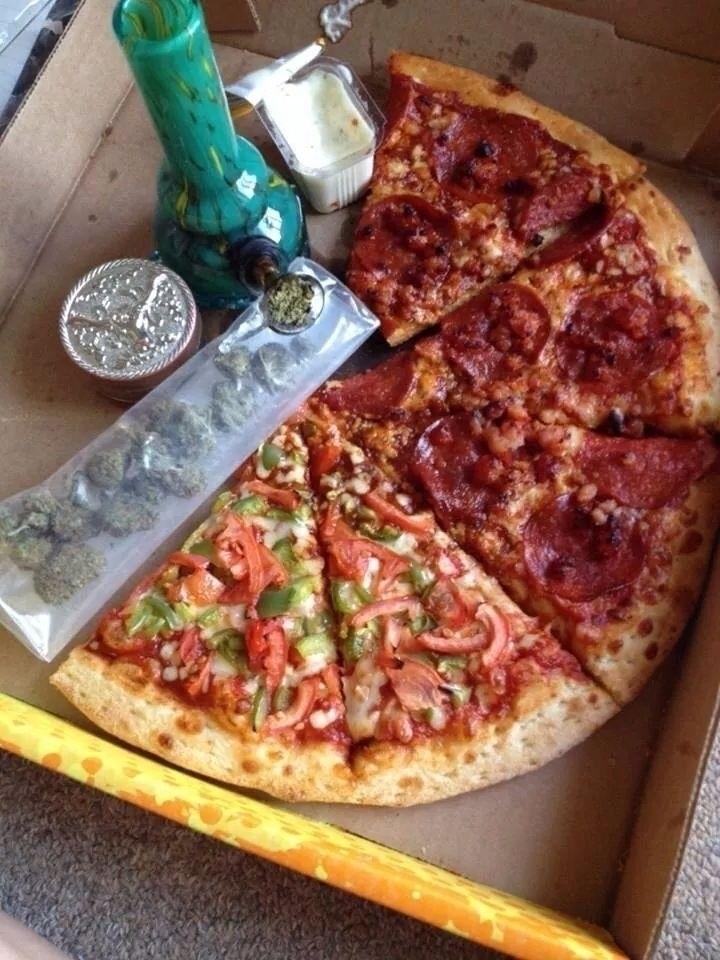 Pizza 1 'addictive' food. starv - ellocannabis | ello