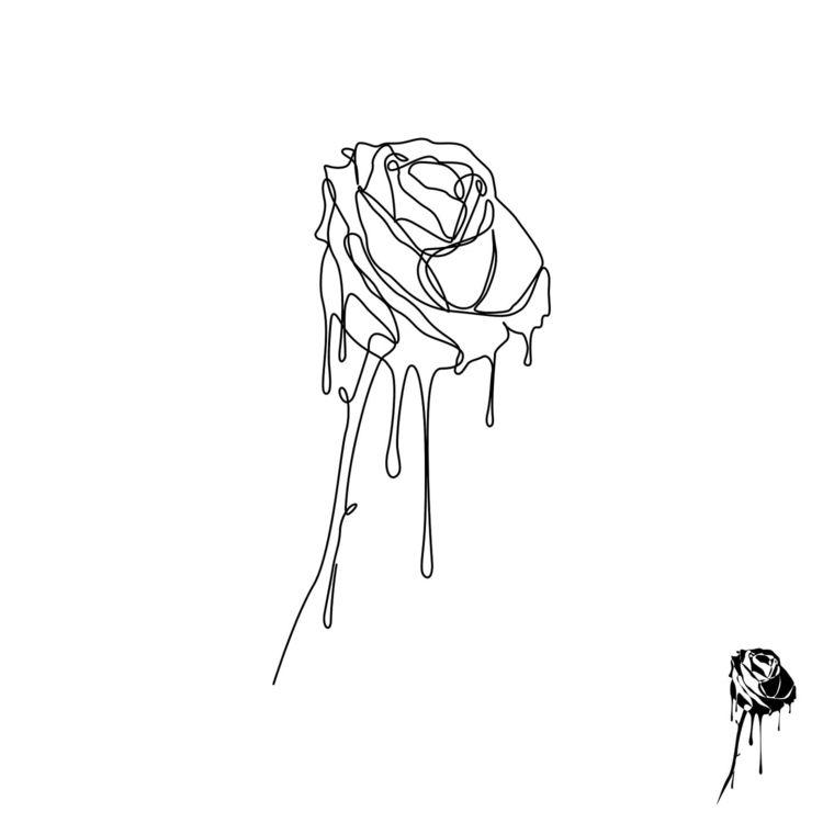 Dripping line rose based image  - alexanderchalooupka | ello