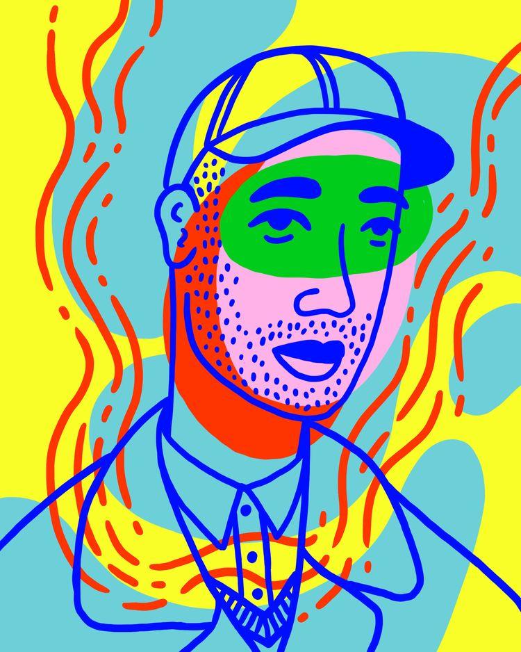 illustration, illustrator, illustrationartists - heybop | ello