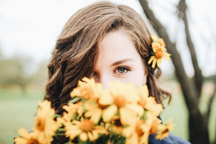 flowers blooming waco, tx - portrait - randy_abby   ello