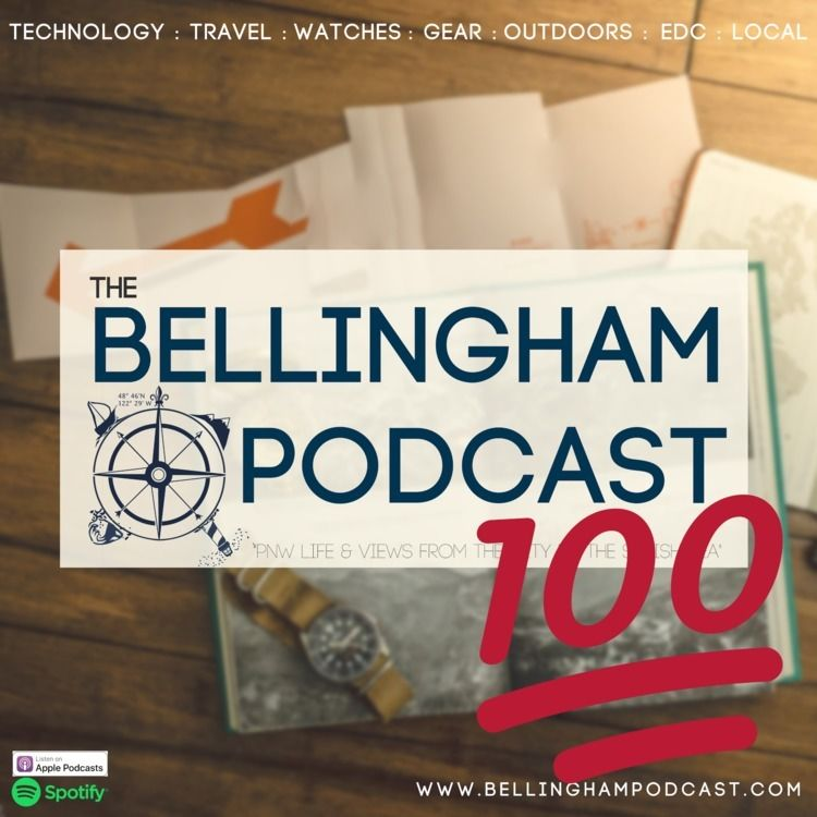 100th episode Bellingham Podcas - ajbarse | ello