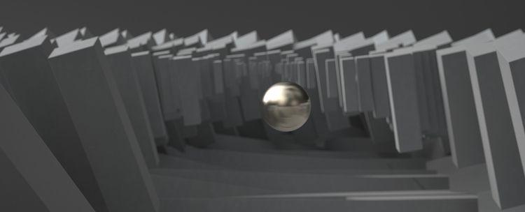 abstract fluidic parametric rec - robob3ar | ello