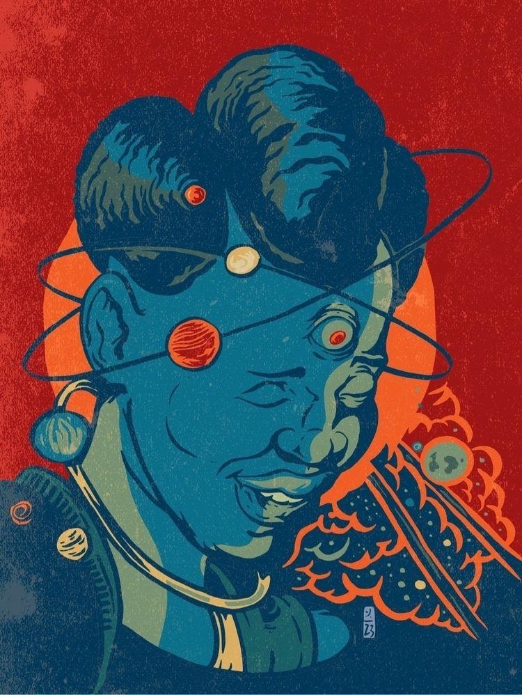 Space Goddess Creation - thomcat23   ello