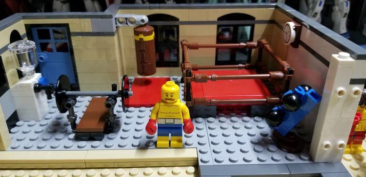 2018 - Lego, GymRoom - raymondsw | ello