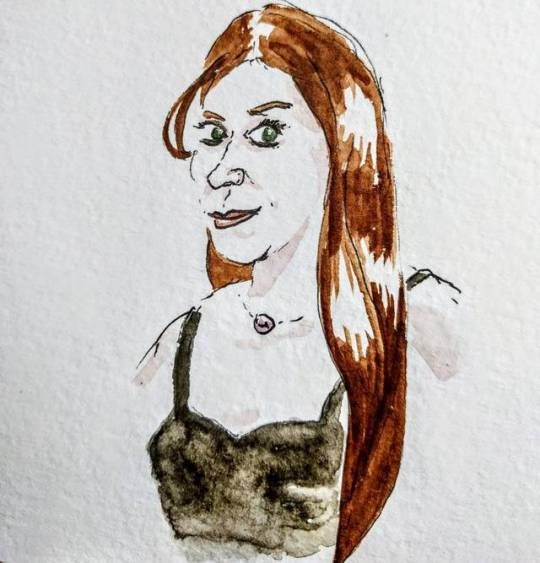 Parisian commuters - portrait, drawing - vendredi | ello