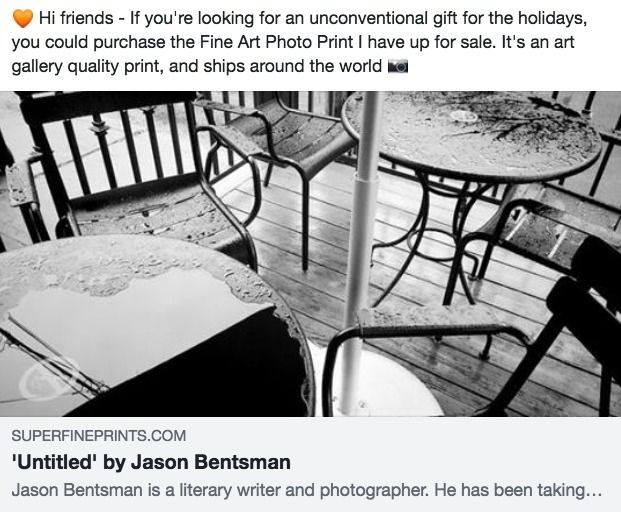 friends - unconventional gift h - jason_bentsman | ello