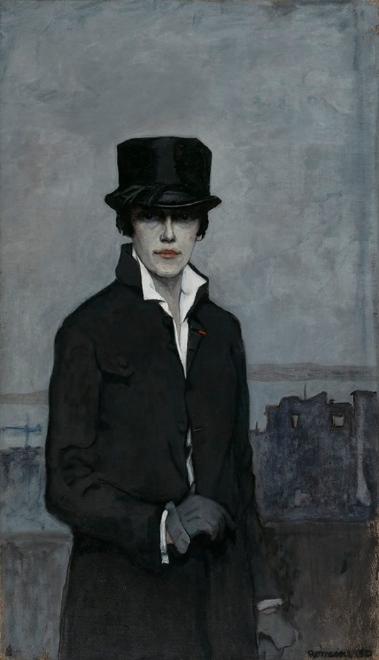 Romaine Brooks // Brookes lesbi - beautifulbizarremagazine | ello