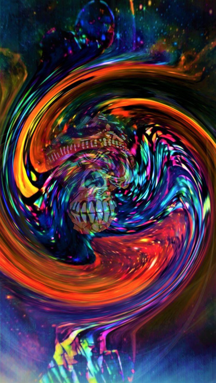 SKULL SWIRL - novaexpress93, skull - novaexpress93 | ello