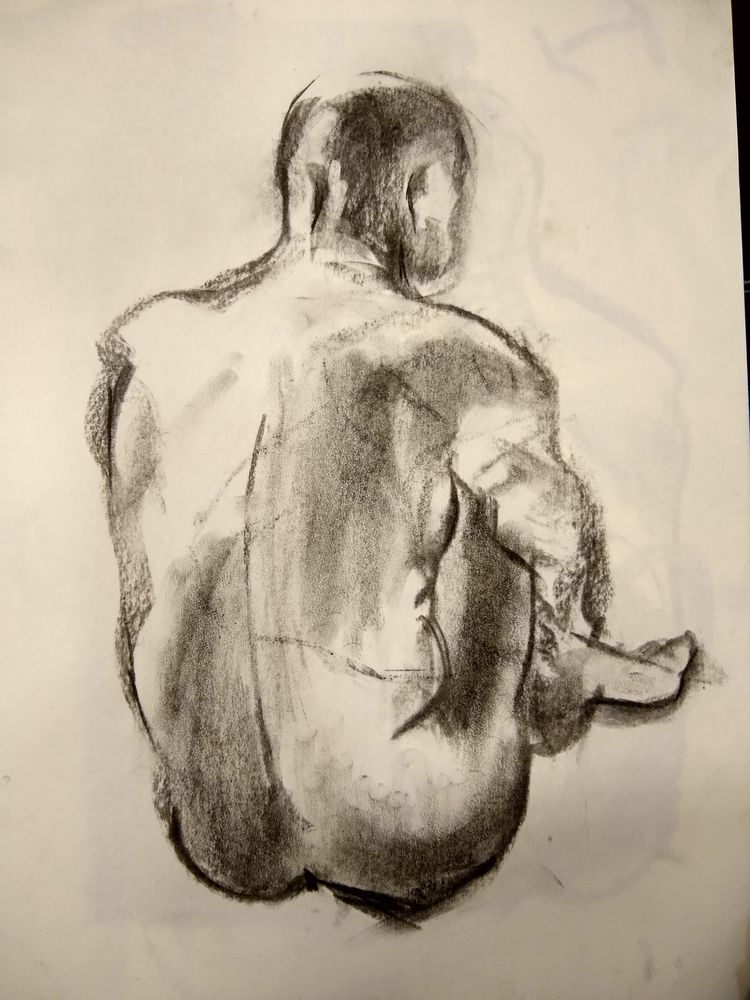 Joan, carbonet sobre paper 30 × - vitelone | ello