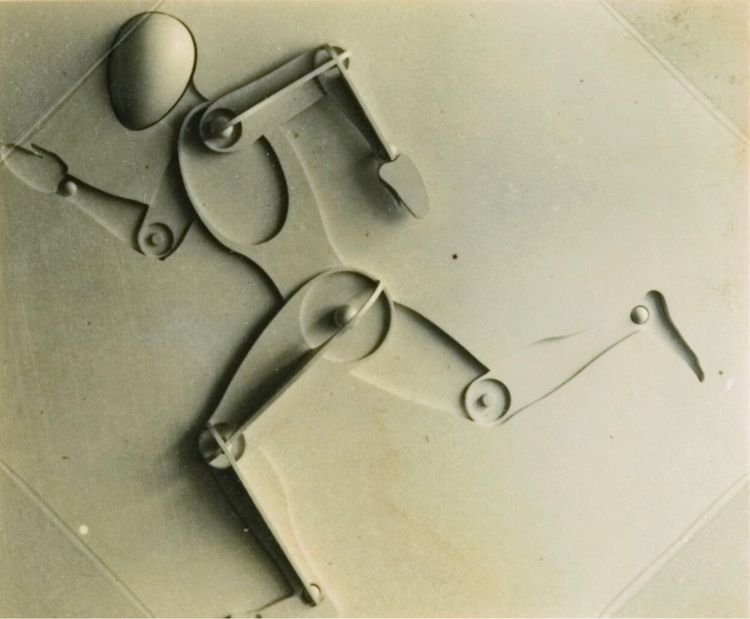 Joost Schmidt, Man 1932. teache - bauhaus-movement | ello