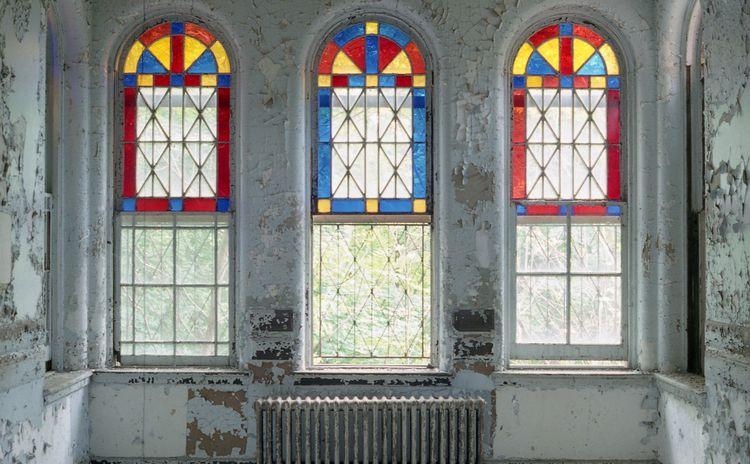 magic - stainedglass, asylum, kirkbride - urbannpigeon | ello