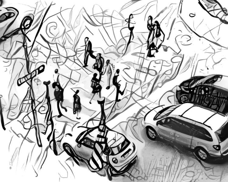 Crosswalk - photography, toronto - kenlong | ello