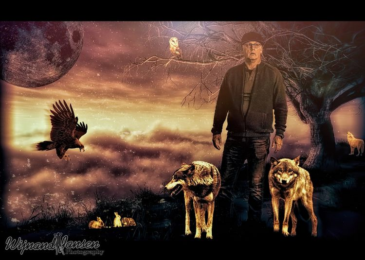 wolfman life German shepherd do - artmen   ello