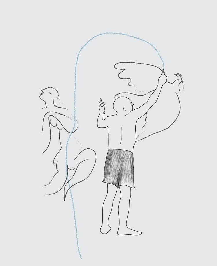Le portrait de Pablo - illustration - valeryl | ello