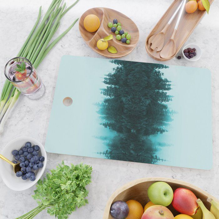Cloudy Forest Cutting Board - Creativeaxle - creativeaxle | ello