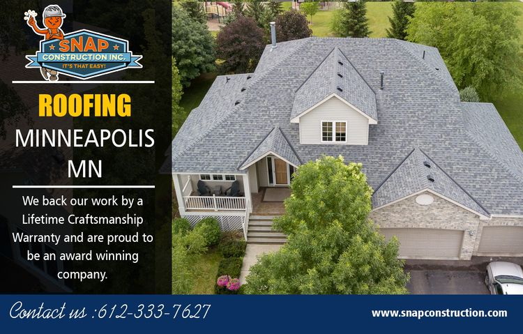 Roofing Minneapolis MN Company  - snapconstruction | ello
