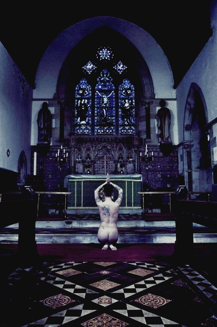 photography, church, nudephotography - thelittledeathmuse | ello