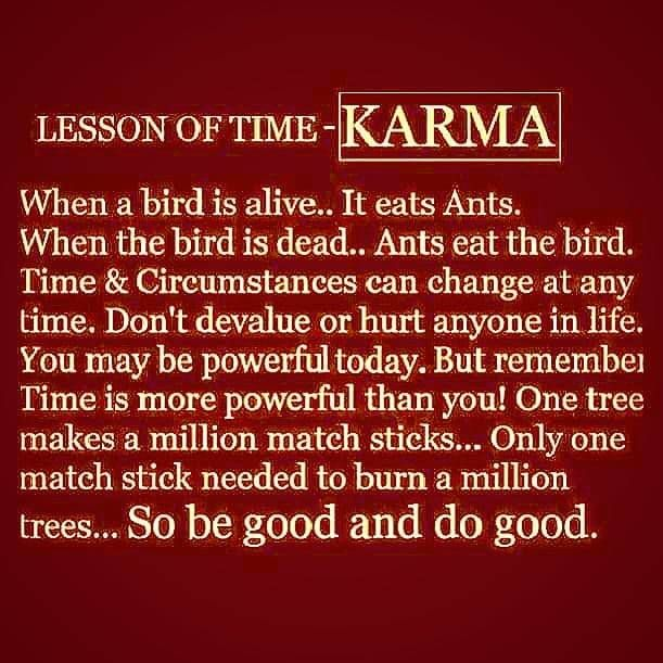 Words Wisdom Lesson Time Karma  - vicsimon | ello