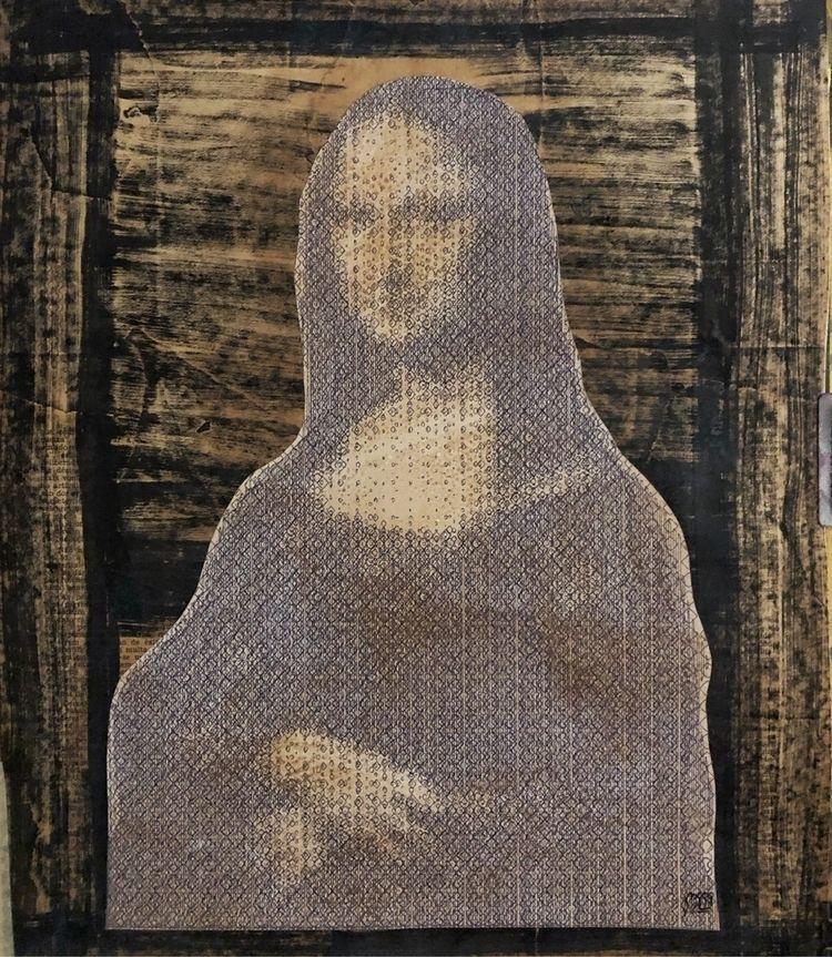 """Mona"" . Acrylics, ink marker a - cicerospin | ello"
