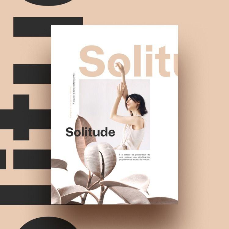 Solitude - poster, inspiration, woman - vissotto | ello