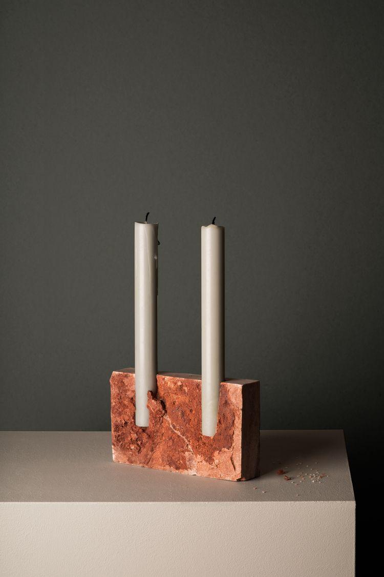 Snug candle holders Studio Sann - thetreemag | ello