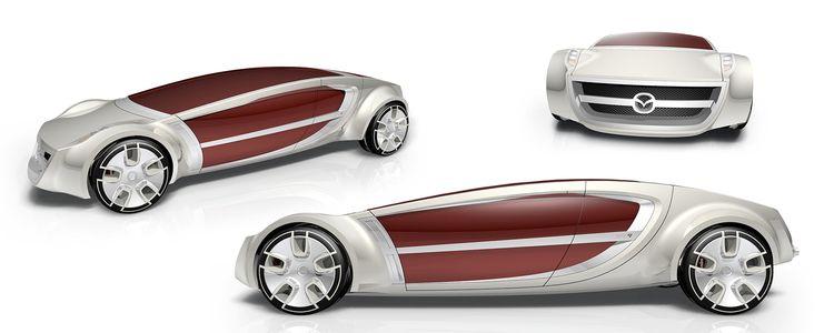 Mazda Hybrid concept: hypercar  - jamesowendesign | ello