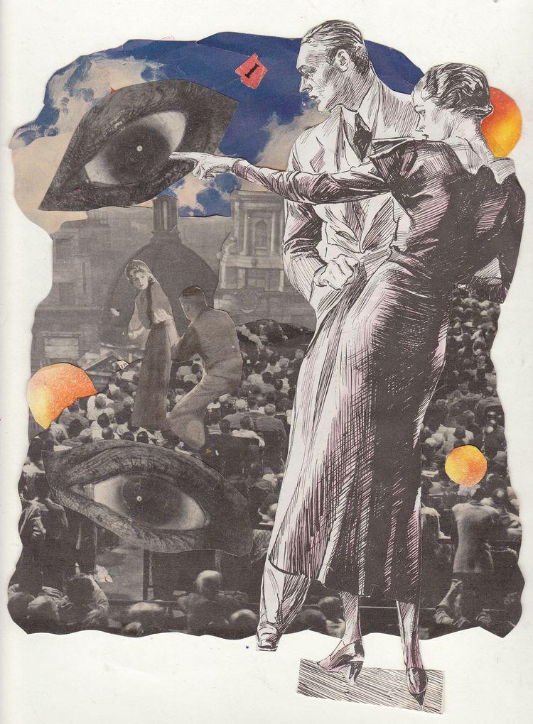 Collage Jeanne Teolis - jeanneteolis | ello