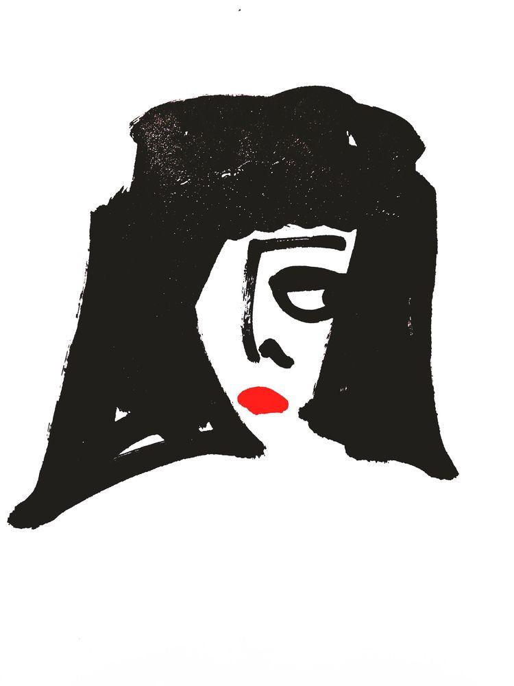 Portraits paint pen paper | 201 - jkalamarz | ello