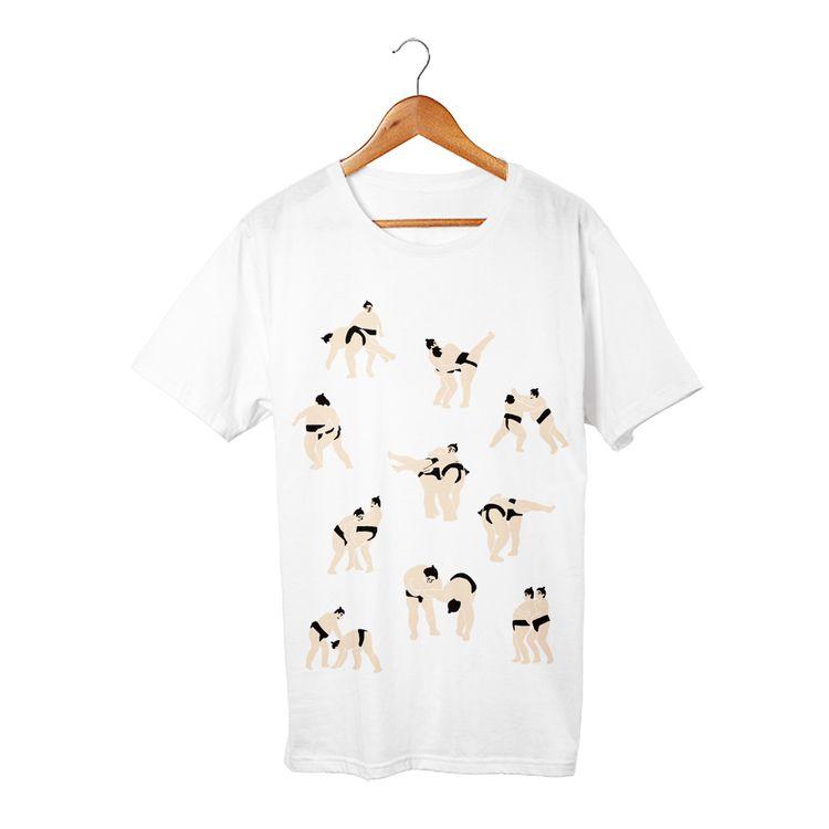 おすもうさん4 Tシャツ - takesick | ello