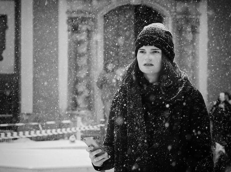 lost snow - Prague - streetphotography - erwinvindl | ello