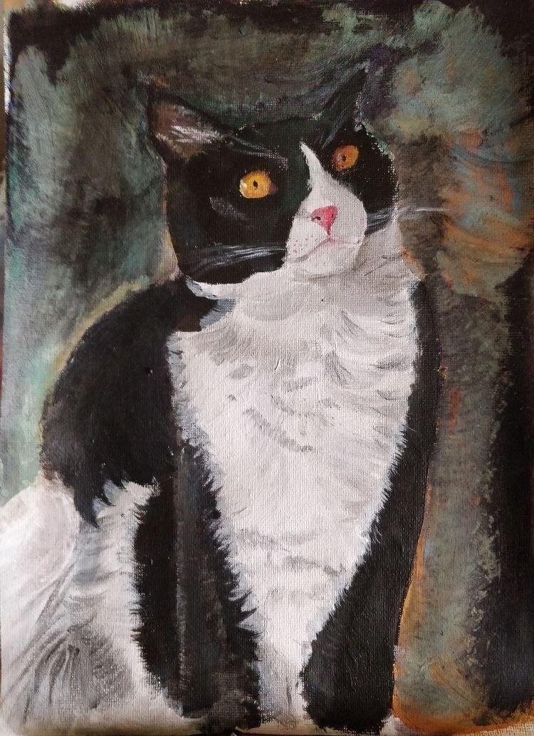 Loki - acrylic, canvas - kotev | ello