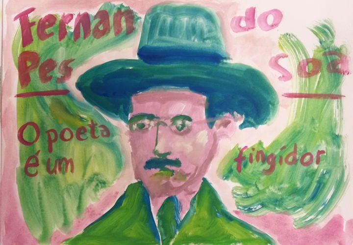 Fernando Pessoa poeta é um fing - henkjanpanneman | ello