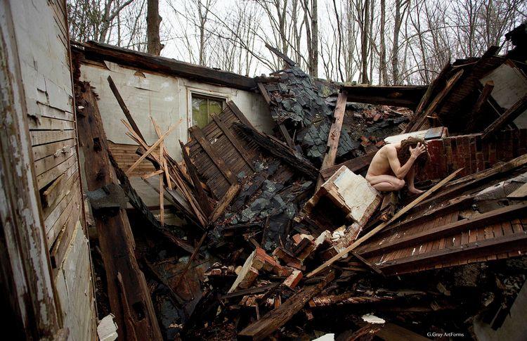 Wreckage 4 Penobscot, Maine. Ap - gloriagray | ello