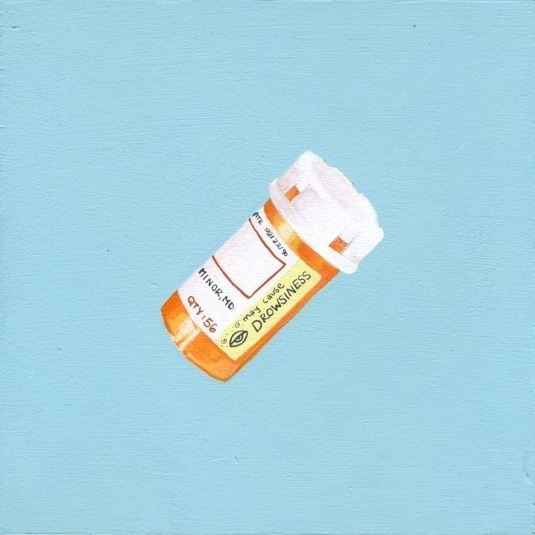 Acrylic + Gouache | 8x8 Birch P - nikoli | ello