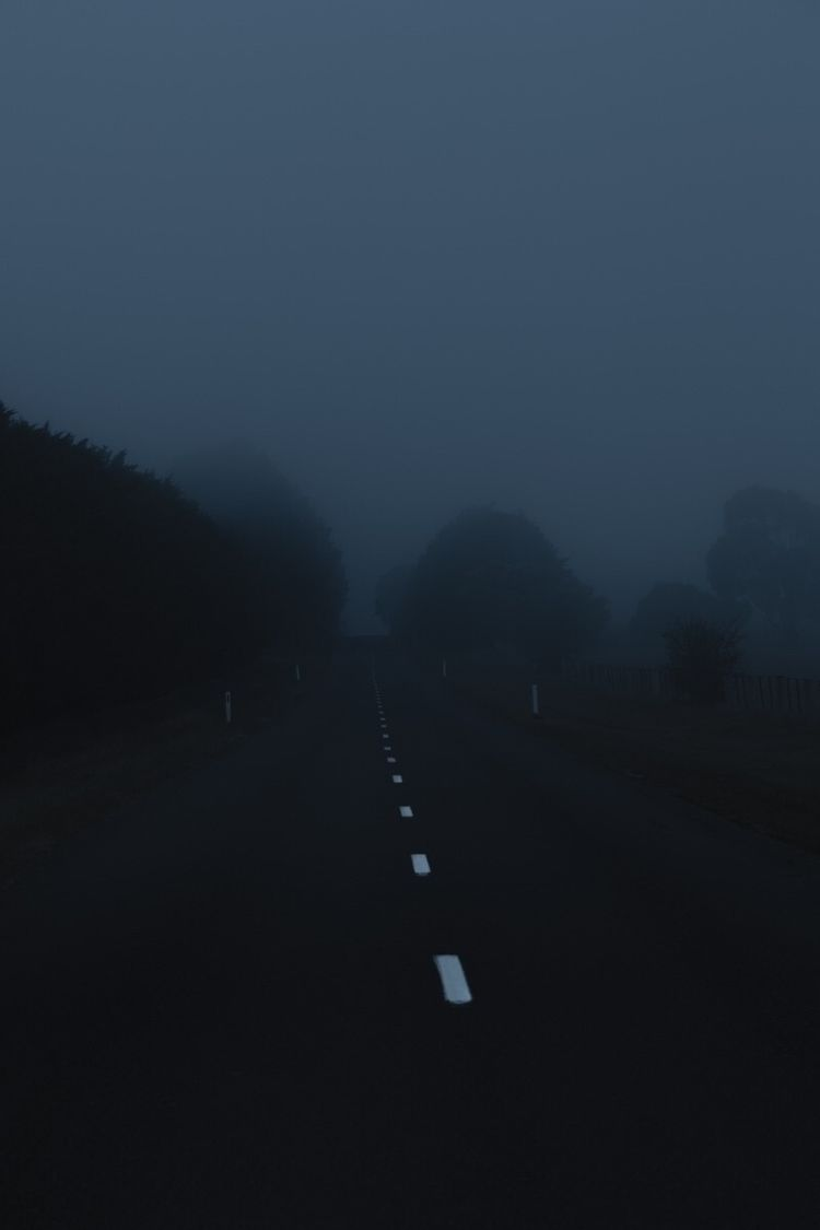 dawn, night, blue, rural, country - jokalinowski_ | ello