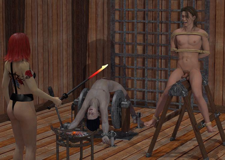 Dungeon 03 - 3d, 3d_art, art, torture - thor3d | ello