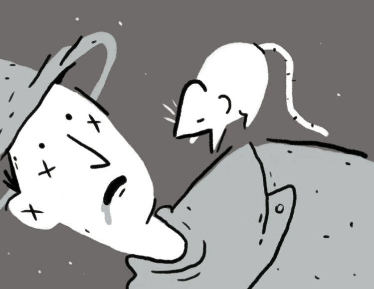 die - rat, magician, comic, fragment - sophiariviere | ello