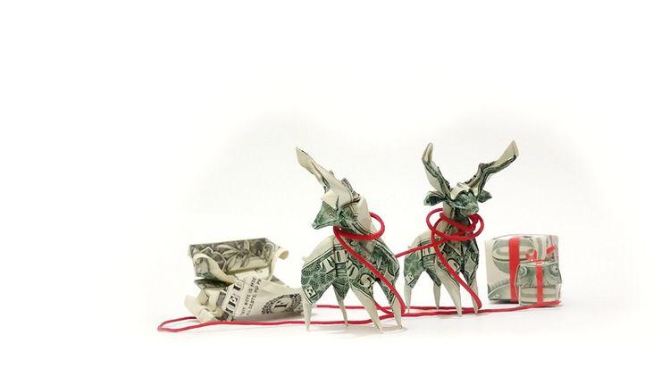 Yule Check Christmas Origami -  - origamidotme | ello
