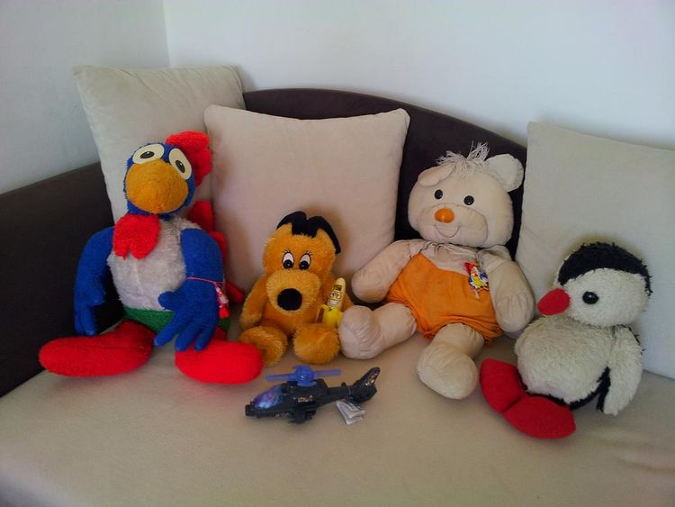 Adults love stuffed animals - toys, - rooster64 | ello