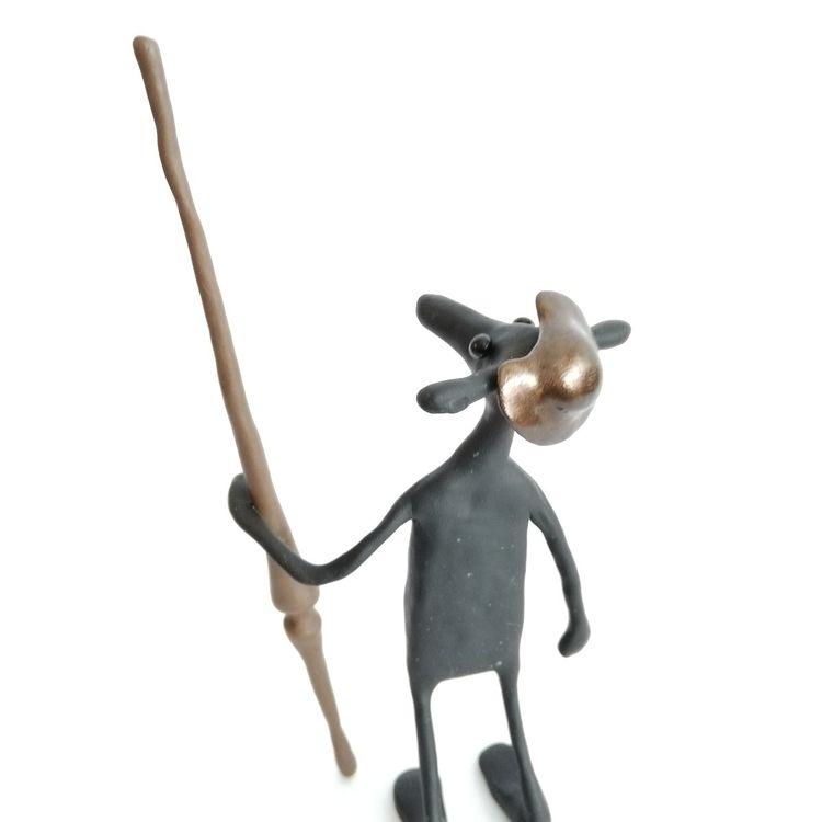 Don Quixote Grubb - arttoy, sculpture - jedsevard | ello